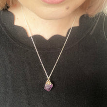 Load image into Gallery viewer, GS- Amethyst Necklace