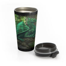 Load image into Gallery viewer, Forest Dragon Stainless Steel Travel Mug