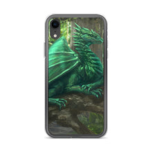 Load image into Gallery viewer, Forest Dragon iPhone Case