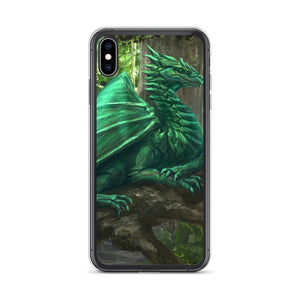 Forest Dragon iPhone Case