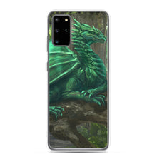 Load image into Gallery viewer, Forest Green Dragon Samsung Case