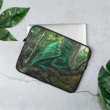Load image into Gallery viewer, Forest Dragon Laptop Sleeve