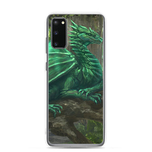 Forest Green Dragon Samsung Case