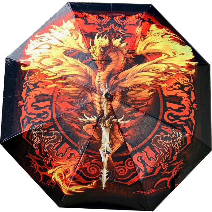 Ultimate Flame Blade Dragon Umbrella!