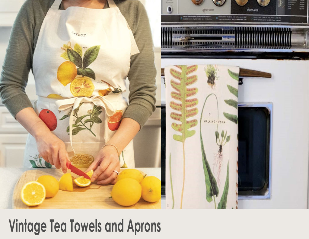 Tea Towels & Aprons