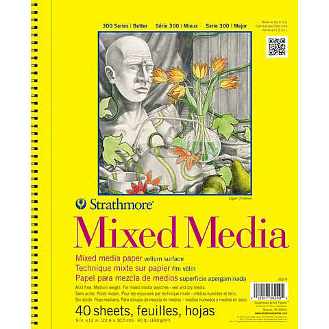 Strathmore Mixed Media Paper Pads 300 Series