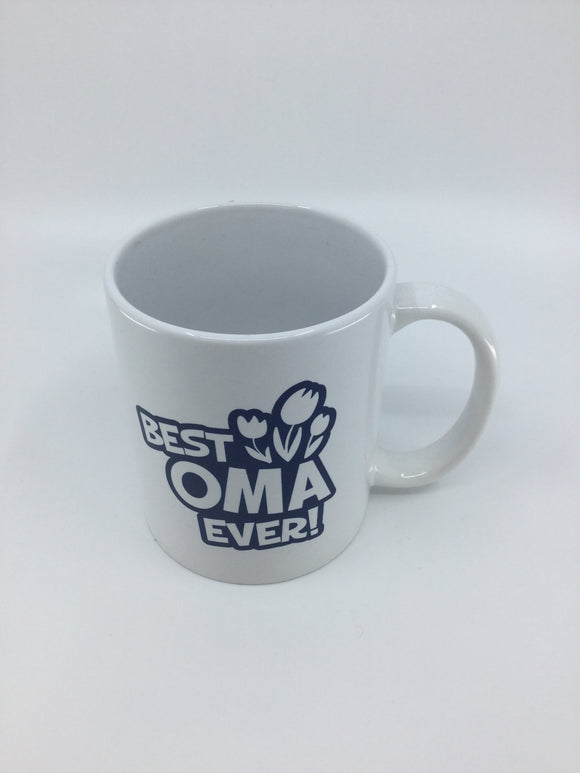 BEST OMA EVER MUG