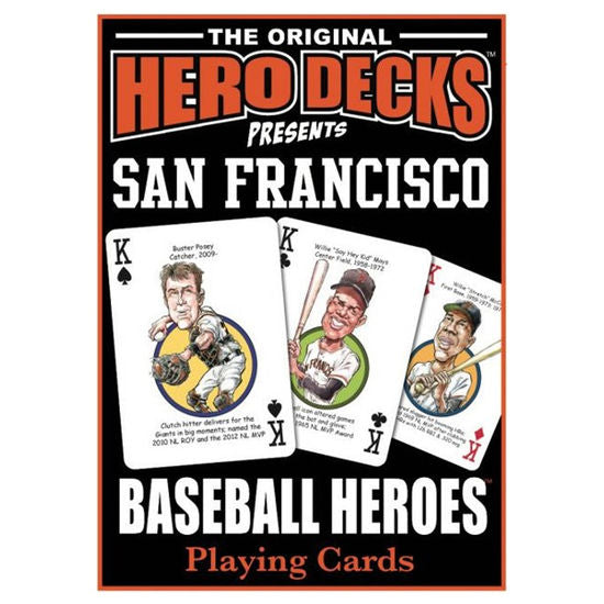HERO DECK - SAN FRANCISCO GIANTS