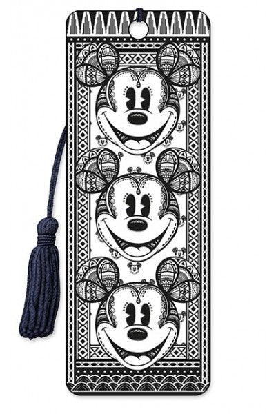 3D BOOKMARK - MICKEY FRACTAL