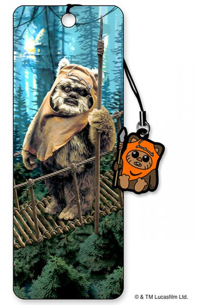 3D BOOKMARK - EWOK