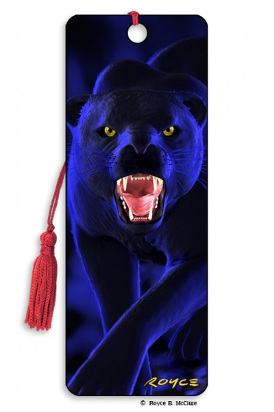 3D BOOKMARK - PANTHER