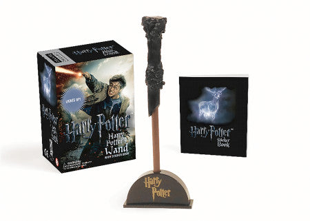 MINI: HARRY POTTER WIZARD'S WAND WITH STICKER BOOK