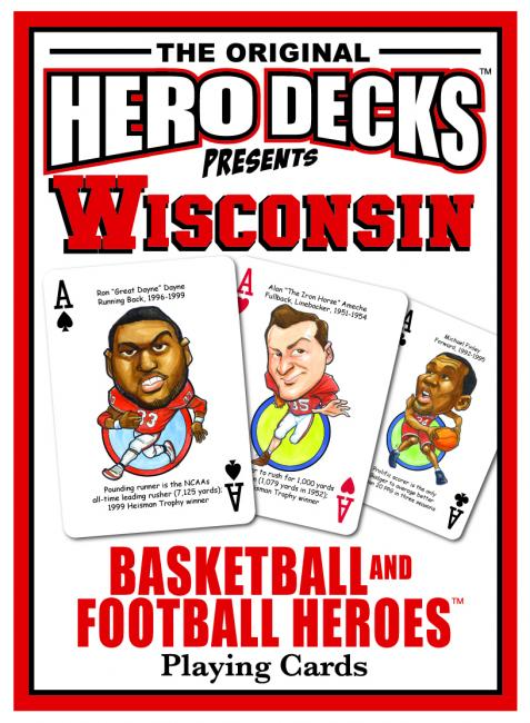 HERO DECK - WISCONSIN BADGERS