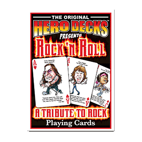 PLAYING CARDS - ROCK N' ROLL