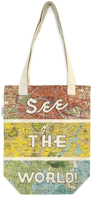 SEE THE WORLD TOTE
