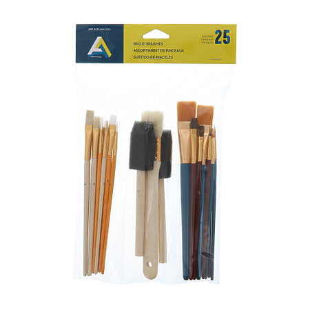 BAG-O-BRUSHES 25PCS