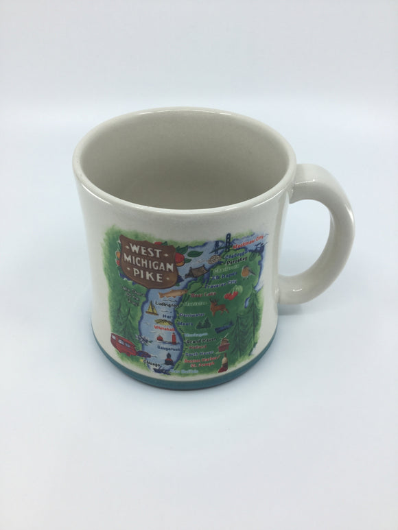 WEST MICHIGAN PIKE MUG