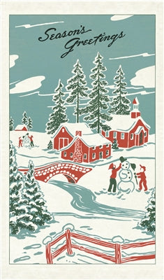 TEA TOWEL WINTER WONDERLAND