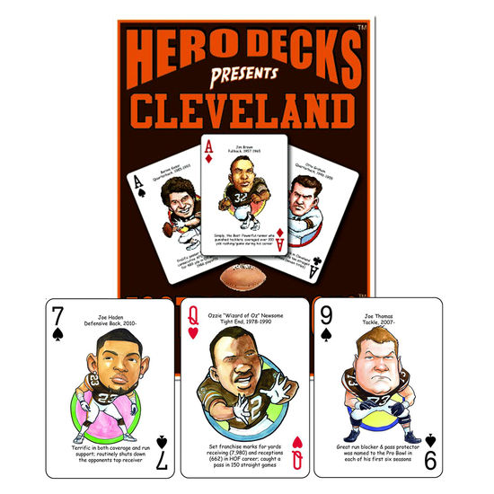 HERO DECK - CLEVELAND BROWNS