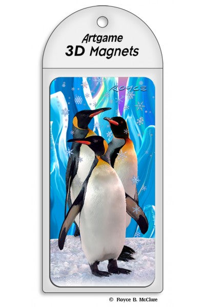 3D MAGNET - PENGUINS