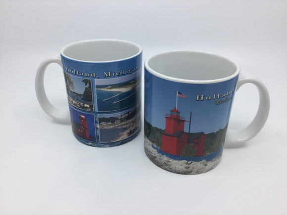 MUG HOLLAND HARBOR LIGHTHOUSE