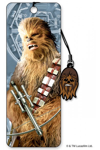 3D BOOKMARK - CHEWBACCA BOWCASTER