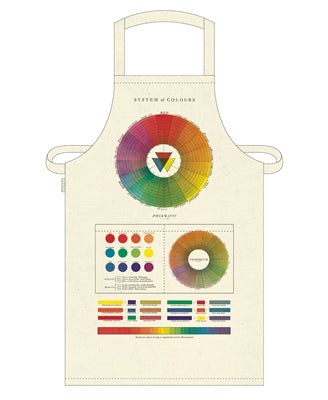 COLOR WHEEL VINTAGE APRON