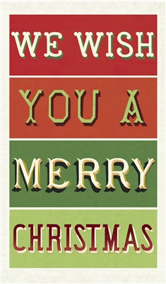 TEA TOWEL MERRY CHRISTMAS