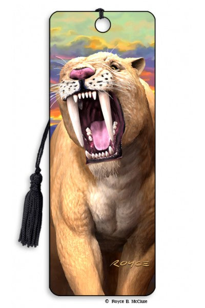 3D BOOKMARK - SABRETOOTH