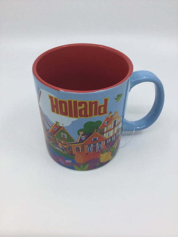 COFFEE MUG/SPOON HOLLAND HOUSE