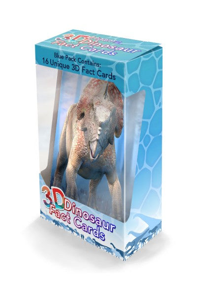 3D DINO FACTS BLUE PACK