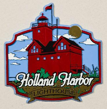 Holland Lighthouse Magnet