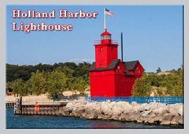 Jumbo Holland Harbor Photo Magnet