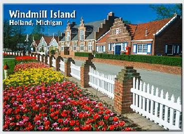 Windmill Island Photo Magnet