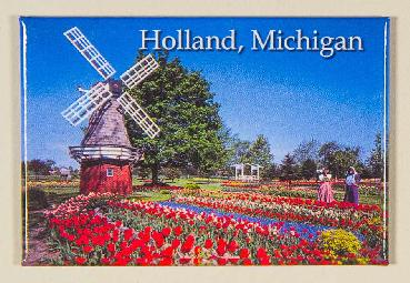 Holland Tulip Gardens Photo Magnet