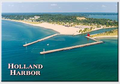 Holland Harbor Aerial Magnet