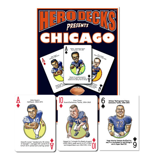 HERO DECK - CHICAGO BEARS