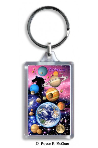 3D KEYCHAIN - PLANETS