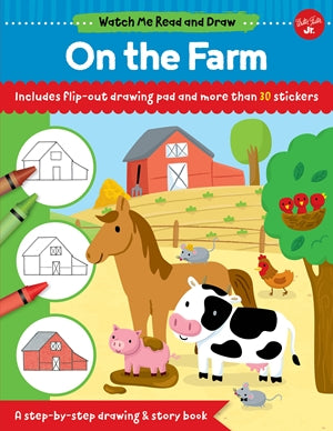 WATCH ME READ & DRAW ON THE FARM