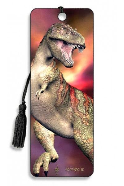 3D BOOKMARK - T-REX