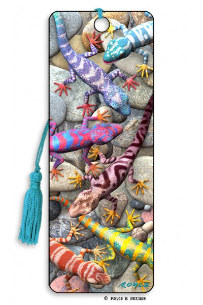 3D BOOKMARK - GECKOS