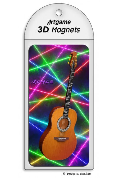 3D MAGNET - GUITARS