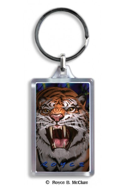 3D KEYCHAIN - TIGER-PANTHER