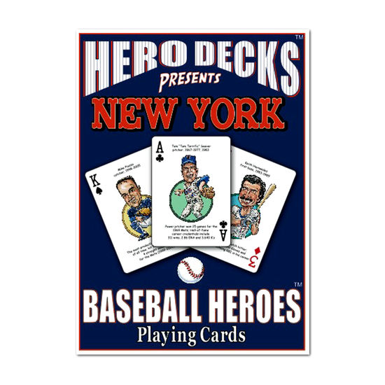 HERO DECK - NEW YORK METS
