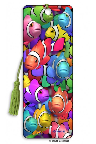3D BOOKMARK - CLOWN SCHOOL