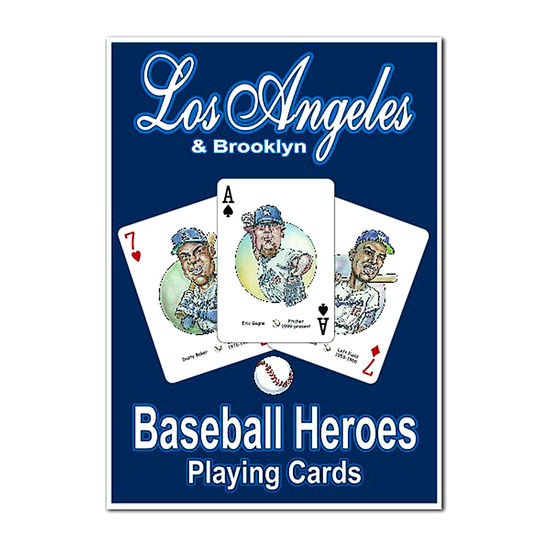 HERO DECK - LOS ANGELES DODGERS