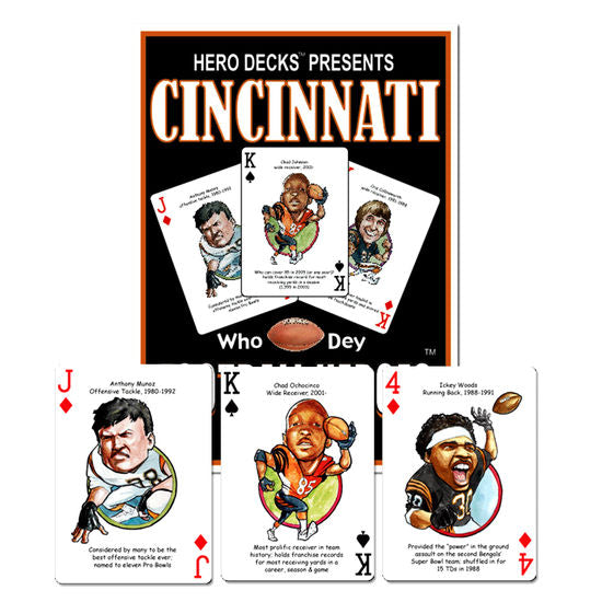 HERO DECK - CINCINNATI BENGALS