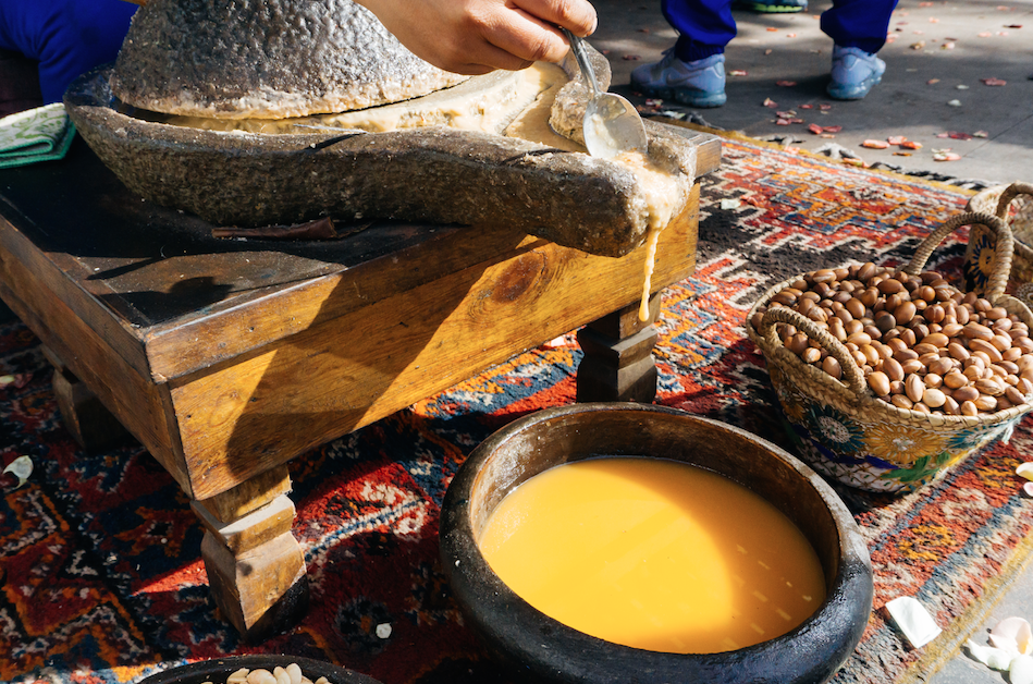 argan making for health and beauty recherche organics