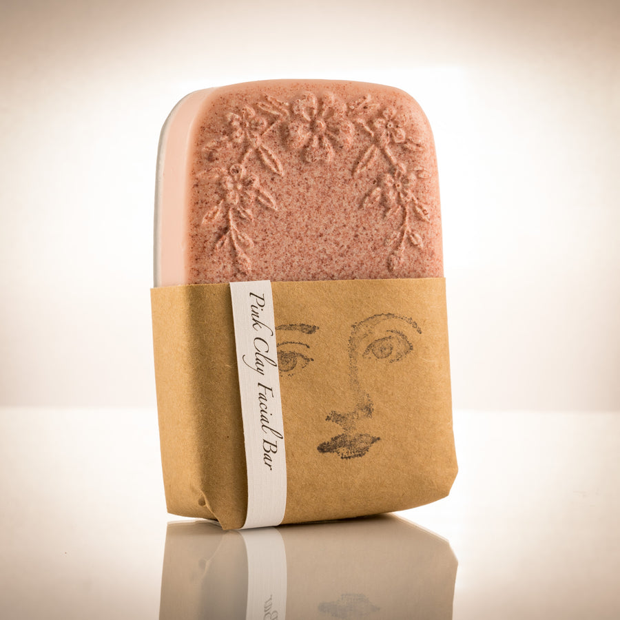 French Pink Clay Facial Bar | Recherche Organics