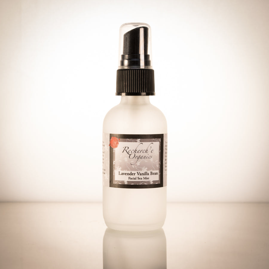 Hand Made Facial Mist - Lavender Vanilla Bean Sea Toner
